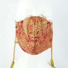Ruth Marchese – Fancy Mask #1 – Gold Dragon